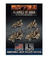 Flames of War - UBX65 Airborne Recon Section Plastic