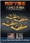 Flames of War - UBX80 3in Towed Tank Destroyer Platoon