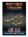 Flames of War - UBX81 57mm Anti-Tank Platoon Plastic