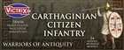 Victrix Miniatures - Carthaginian Citizen Infantry
