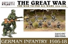Wargames Atlantic - German Infantry 1914-18 Box Set Plastic