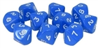 Warlord Games  - D10 Dice Pack - Blue