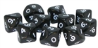 Warlord Games  - D10 Dice Pack - Black