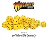 Warlord Games  - 30 Yellow Dice (10mm)