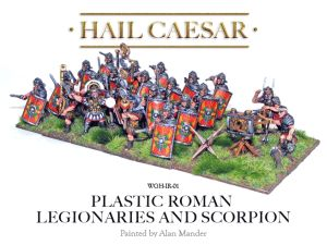 Warlord Games - Imperial Roman Legionaries and Scorpion boxed set