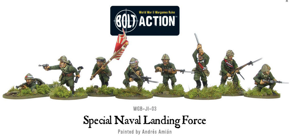 Bolt Action - Imperial Japanese Special Naval Landing Force