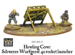 Bolt Action - German Howling Cow, German rocket launcher