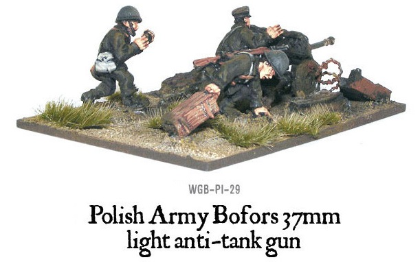 German 50 Mm Anti Tank Gun: Polish Army Bofors 37mm Anti-tank Gun