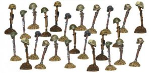 Bolt Action - Pinned Markers - Pack of 25