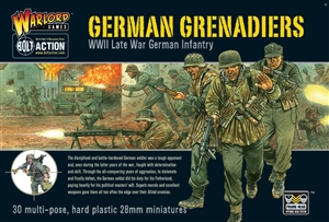 Bolt Action - German Grenadiers Plastic box set