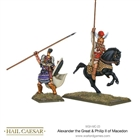 Warlord Games - Ancient Greek - Alexander the Great & Philip I of Macedon