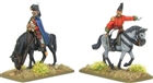 Warlord Games - Mounted Napoleonic British Infantry Officers (Pensinsular War)