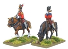 Warlord Games - Mounted Napoleonic British Infantry Officers (Waterloo campaign)