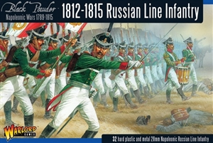 Warlord Games - Late War Russian Napoleonic Infantry 1812 - 1815