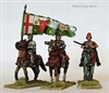 Perry Metals - Medieval - Lancastrian mounted high command  WR4