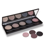 Five Compartment Empty Eyeshadow Palette