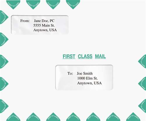 Window tax return mailing envelope landscape format double window tax return mailing envelope landscape format sciox Image collections