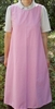 Pinafore Apron Ladies Dusty Pink Floral XL 18 20