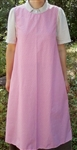 Pinafore Apron Ladies Dusty Pink floral L 14 16