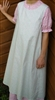 Pinafore Apron Ladies Pastel Green M 10 12