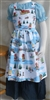 Girl Kitchen Apron Wintertime Fun size M 8/10