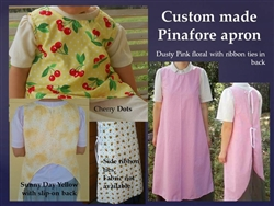 Pinafore Apron Custom Ladies all sizes