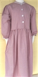 Girl Classic Dress Tan Floral cotton size 10 X-long