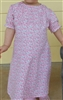 Girl Regency Dress Cheery Pink Floral cotton size M 7 8
