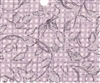 Pink Lattice Tropical Breeze Floral Polyester /cotton Fabric 1/2 yard