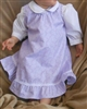 Girl Blouse Classic Button White poly/cotton Rosalina brand 24 month