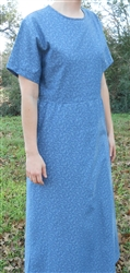 Girl Everyday Dress with Zipper, A-line or Gathered Skirt size L 12/14