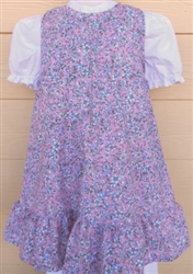 Baby Girl Jumper Peasant Pastel Floral cotton size 3