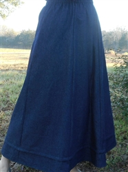 Custom hemline pleat