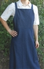 Ladies Bib Jumper Navy Denim M 10 12 Tall