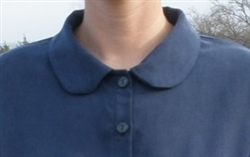 Ladies Peter Pan Collar to add to custom button front garments