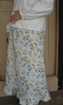 Maternity Ruffle Skirt Cotton Floral all sizes