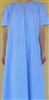 Ladies Nightgown Crinkle Cotton Brown Floral size M 10 12