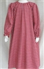 Girl Loungewear Gown Dress Red Plaid Flannel cotton size 14 16 X-long