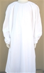 Girl Loungewear Gown Dress White Muslin cotton size XS 3 4