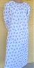 Ladies Nightgown Creamsicle Peach solid cotton Flannel L 14 16