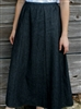 Girl 6 Gore Skirt Black Denim size L 12 14