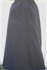 Girl A-line Skirt Brown Twill cotton blend size 14