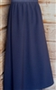 Girl A-line Skirt Navy Polyester size 10