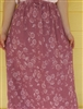 Ladies A-line Skirt Medium Gray polyester M 10 12