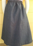 Girl A-line Skirt Chambray Dobbie Denim size 14