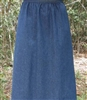 Girl A-line Skirt Navy Denim size 14