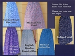 Cotton Print A-line Skirt Girls custom all sizes