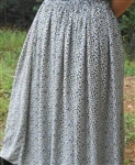 Ladies Full Skirt in Lightweight Rayon or Polyester Custom S, M, L, XL, 1X, 2X, 3X