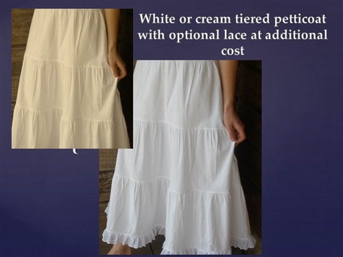 White Petticoat Slip