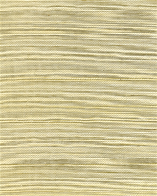 Soft Natural gold metallic back sisal weave grasscloth